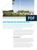 Have Your Say on the Master Plan