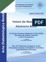 Acta Diabetologica Romana 2016 (1)