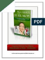 Introduccion La Suerte de Ser Miope PDC