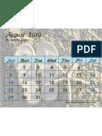 Activity August 2010 Flipflops