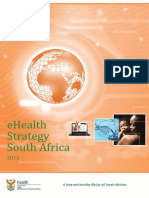 South Africa EHealth Strategy 2012 2017