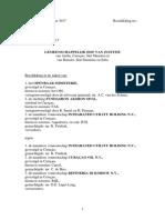 2017 06 13 - VONNIS Civiele Enquête EJ 80219 Aqualectra Curoil en Refineria di Korsou RdK