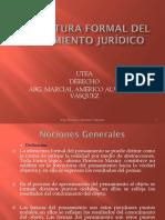 Estructura Formal Del Pensamiento Juridico