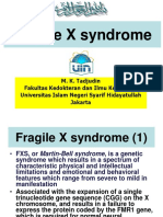 Fragile X syndrome.ppt