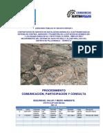 CP8-PG-SAP-GEN-SM-004 Procedimiento de Comunicación, Participación y Consulta