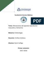 Alteraciones del aparato reproductor masculino y femenino.docx