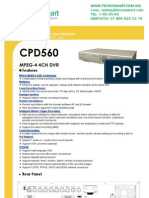 DVR 4 canales CPCAM CPD560ZAS