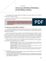 Competencia Criminal Justiça Federal