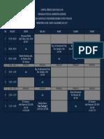 132501_jadwal Perkuliahan Kelas 4b