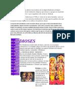 El hinduísmo es una forma ulterior más moderna de la religión Brahmánica.docx