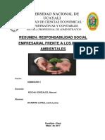 Responsabilidad Social Empresarial Frente a Los Pasivos Ambientales - Copia