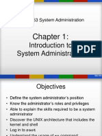 Chap1Introduction to System Administration