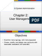 Chap2User Management