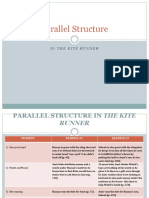 parallel structure in kr