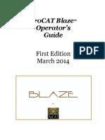 Blaze Operators Guide 1st Edition