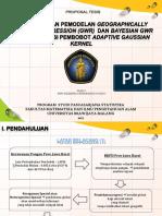 Proposal BGWR