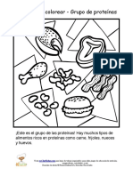 Es Spanish Protein Group Kids Coloring Sheets