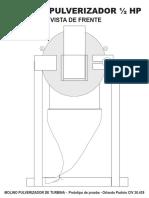 Molino Pulverizador Prototipo de Prueba