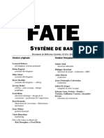 Fate Systeme de Base - Srd