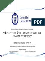 Cálculo y Diseño de La Marquesina