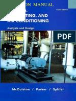 McQuiston HVAC Analysis Design 6th Solutions Parte1