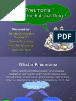 Presentasi Pneumonia Very Up Date