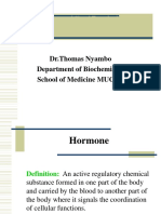 Hormones and Signal Transduction PP