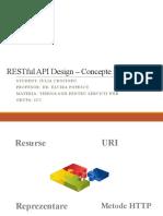 Proiect_Tehnologii Pentru Servicii Web