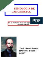 Epistemologia de Las Ciencias