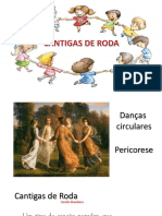 Cantigas de Roda Workshop