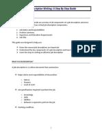 Job Description Writing - A Step By Step Guide(1)[1].pdf