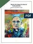 Romero Reflection Packet 2015