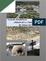 Plan de Desarrollo Urbano Sihuas Correccion