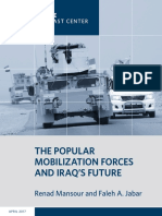 The Popular Mobilization Forces and Iraq's Future