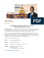 ENGLISH - Congressman Adriano Espaillat to Host Immigration Day of Action