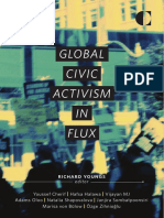 Global Civic Activism in Flux