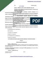 Ley 29090 Ley de Regulación de Habilitaciones Urbanas y de Edificaciones