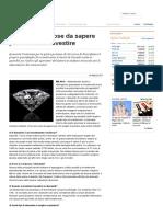 Diamanti, Sei Cose Da Sapere Per Chi Vuole Investire - Repubblica