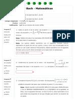 Cuestionario de PROPIEDADES MÉTRICAS DE RECTAS Y PLANOS EN EL ESPACIO