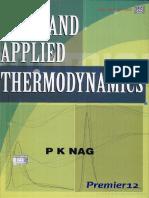 Basic and Applied Thermodynamics - Pk Nag