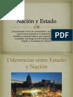 Nación y Estado