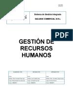 GA-P-001 GESTIÓN DE RECURSOS HUMANOS.doc