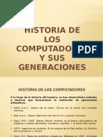 Generaciones de La Computacion