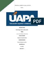 Tarea #6 de Sociologia de La Educacion