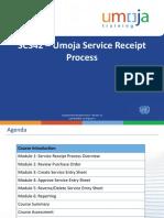 SC342 Umoja Service Receipt Process ILT PPT v13 RFP