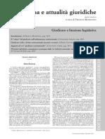 Dottrina Giudicato Costituzionale (Modugno; Serges; Caponi; Cerri;Chiara Di Seri)