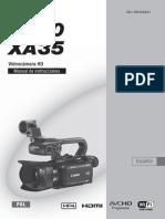 XA30 XA35 Instruction Manual ES
