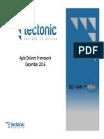 Delivery Agile Framework Training