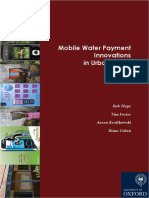 Mobile Water Payment Innovations