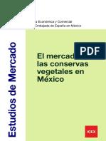 El Mercado de Las Conservas de Vegetales en Mexico ICEX